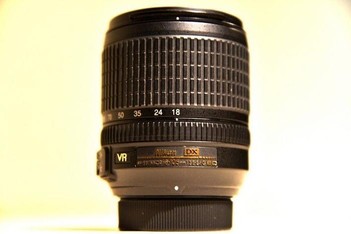 Nikkor 18 to 105mm DX lens