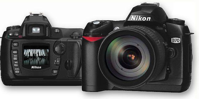 Nikon D70 good condition sell or swop