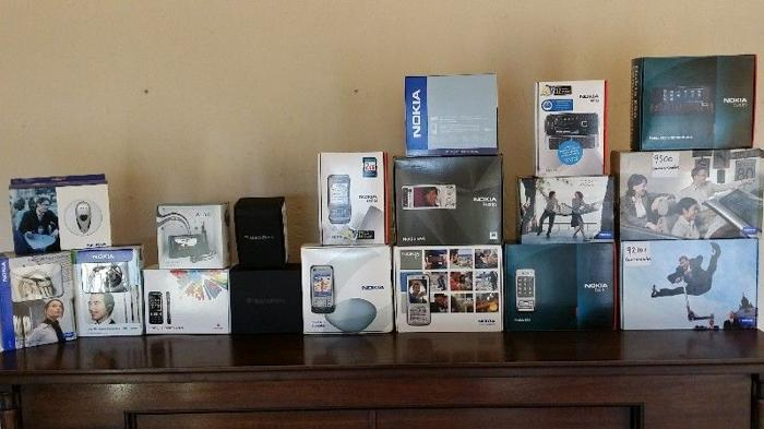 Nokia, BlackBerry and Sony Ericsson phones for sale