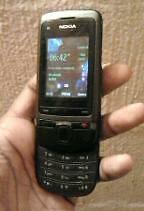 Nokia C2-05 Slide Phone - Original Earphones & Charger