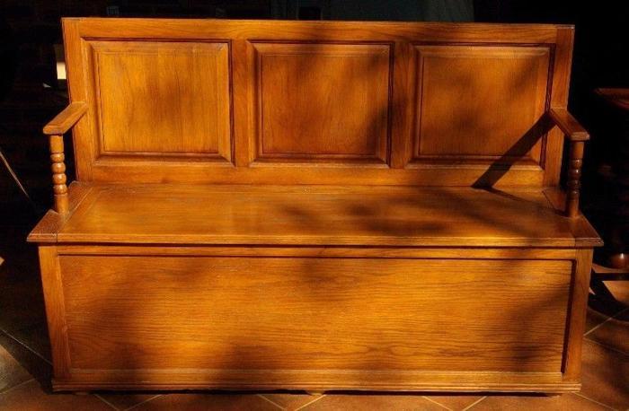 Oak Monks Bench