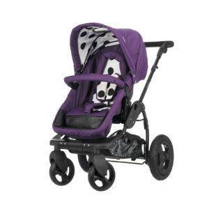 OBaby ZeZu Pramette (Purple Dotty)