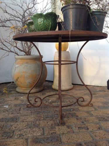 Occasional Table Wrought Iron
