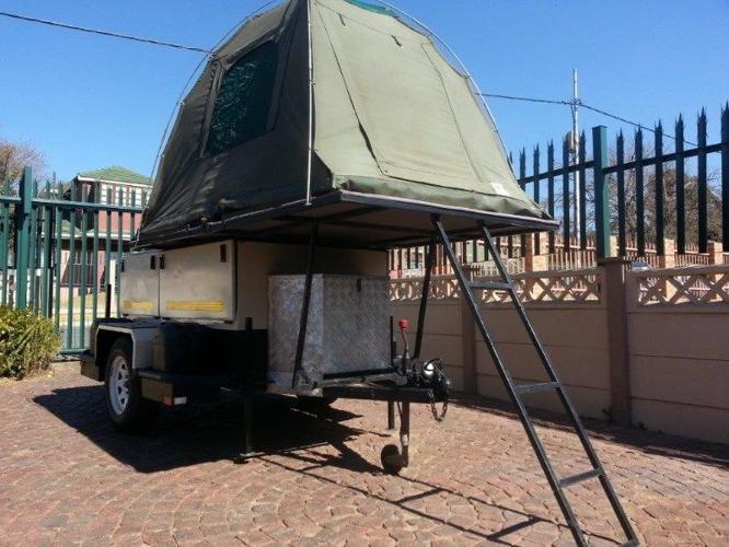 Offroad Trailer + Rooftop Tent for Sale in Johannesburg, Gauteng