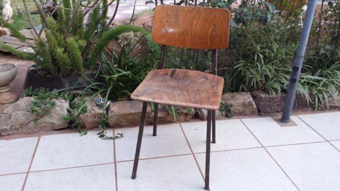 Old artists chair