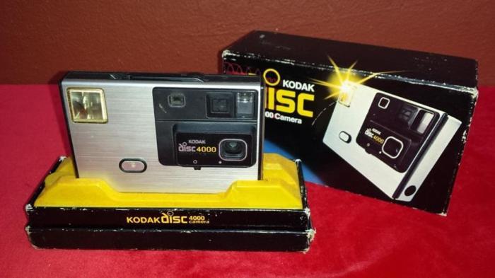 Old Kodak disc camera