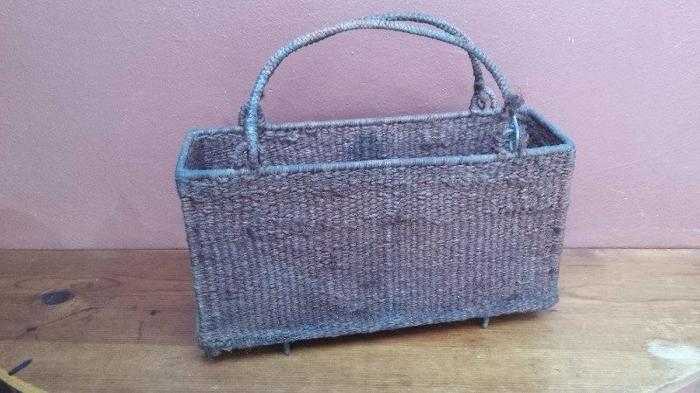 Old rope basket.