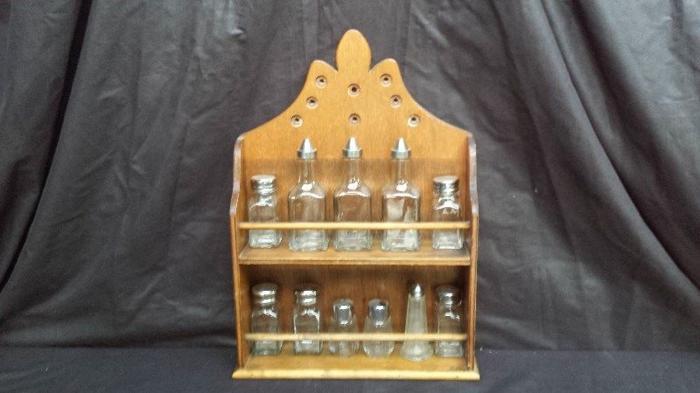 Old spice rack.