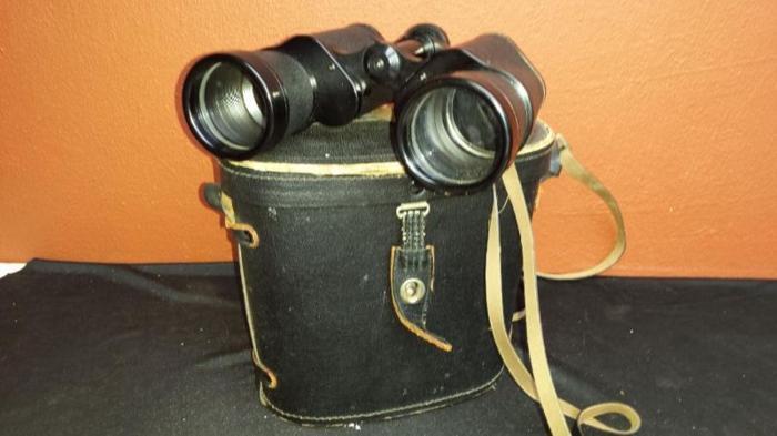 Old Tempest Zennith binoculars.