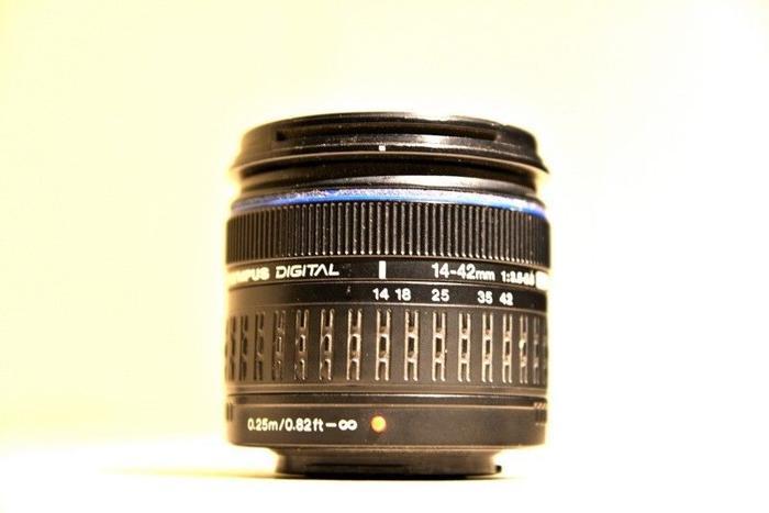 Olympus four thirds system 14-42mm lens