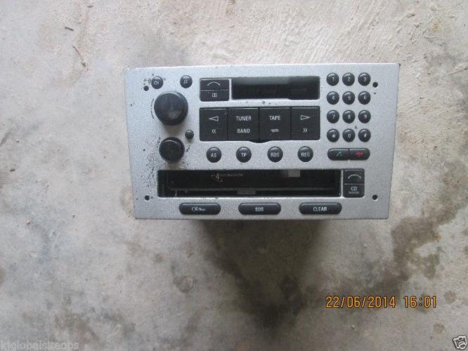 Opel Corsa (Gamma) radio, cd, phone, all in one for