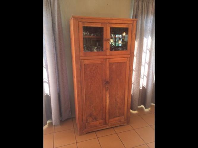 Oregon pine cabinet