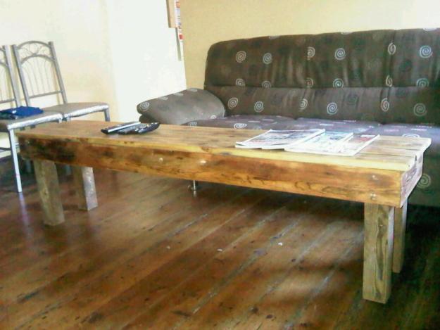 Oregon wood bench 1,8m long