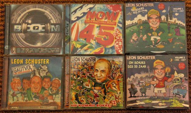 Original CD's (not copied)