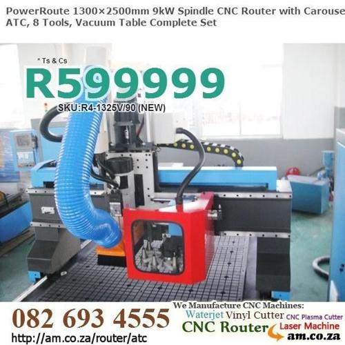 Our 9kW 1300×2500mm ATC Router provide You Productivity