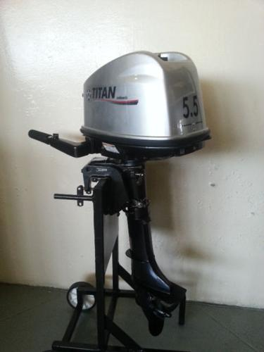 Outboard motor 5.5hp new with 2 year warranty