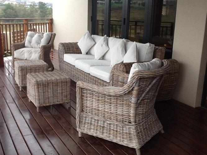 Outdoor Sofa and Armchair Set (Living@Home), Fair