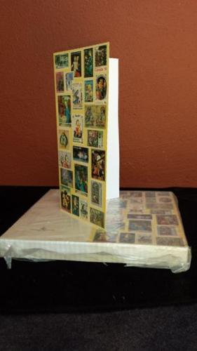 Pack of greeting cards.