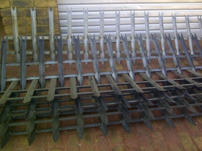 Palesade Fencing 600 mm x 3 meter New.