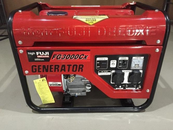 Petrol Generator – Fuji Honda FG3000CX