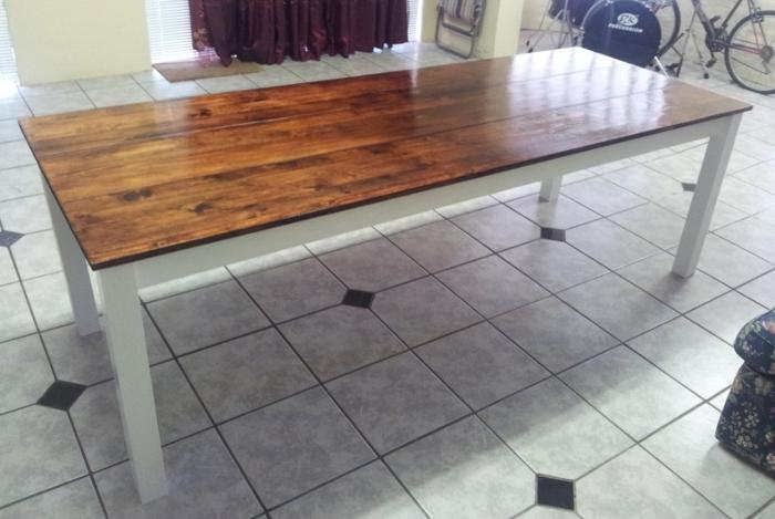 Pine dining table 10 seater for sale in cape town for 10 seater table for sale