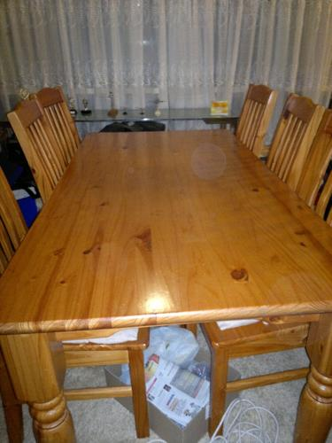 Pine Dining Table For Sale In Johannesburg Gauteng