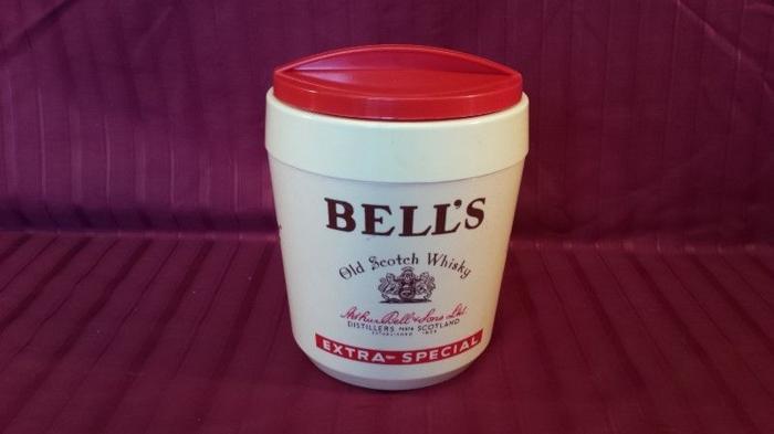 Plastic Bells ice bucket.