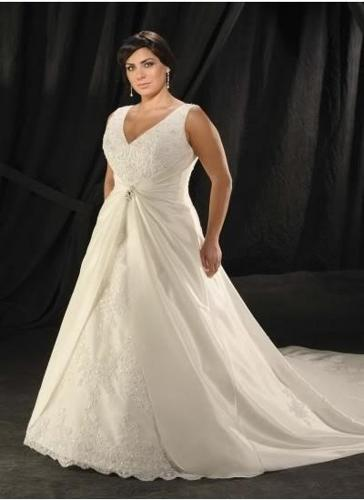 Plus size fuller figure wedding dresses for sale in cape for Wedding dresses for larger figures