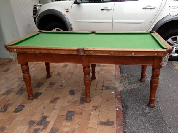 pool table 1 4 size for sale in cape town western cape