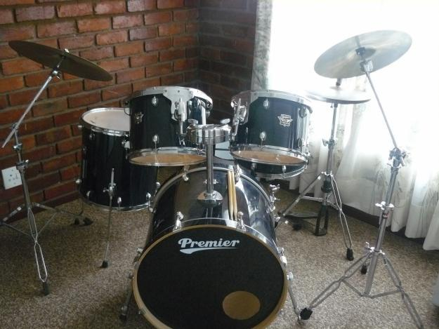 premier cabre complete drum set urgent sale for sale in johannesburg gauteng classified. Black Bedroom Furniture Sets. Home Design Ideas