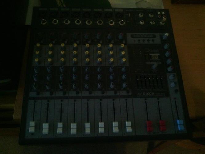 Professional Dj Mixer & Sound
