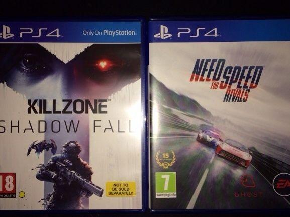 PS4 games x2