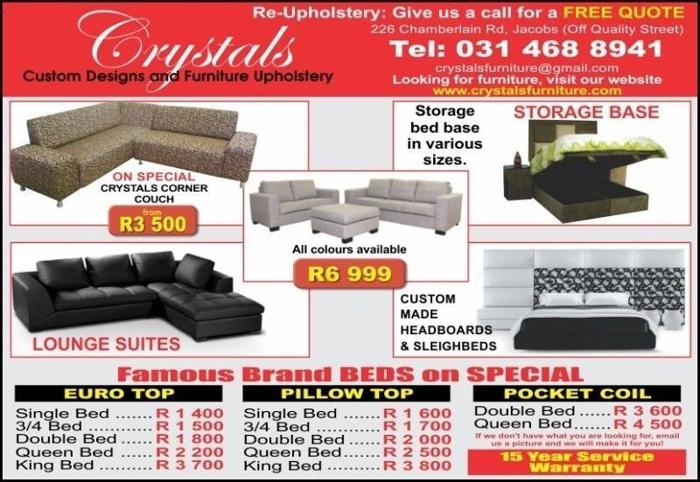 Quailty CORNER COUCH R3500 + ottoman coffee table + 5