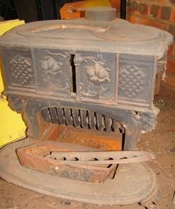 Queen Ann coal stove