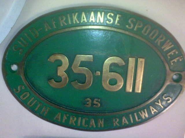 Railway Train Plaques. AL0054