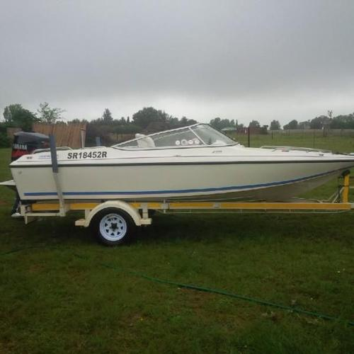Raven Boat, with 200HP Yamaha VMax Motor, for sale by