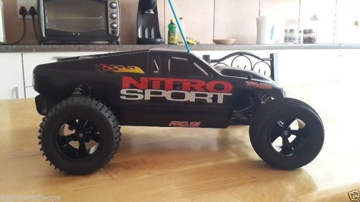 Rc nitro traxxas nitro sport with remote and ez start