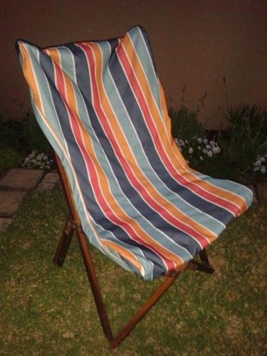 Recover your old camping chairs