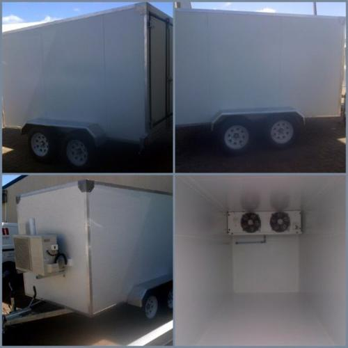 Refrigerated Trailers, Mobile Food Trailers and Load