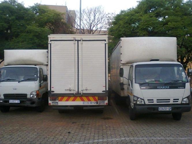 Returns loads 50 % discount from Cape Town via Gauteng