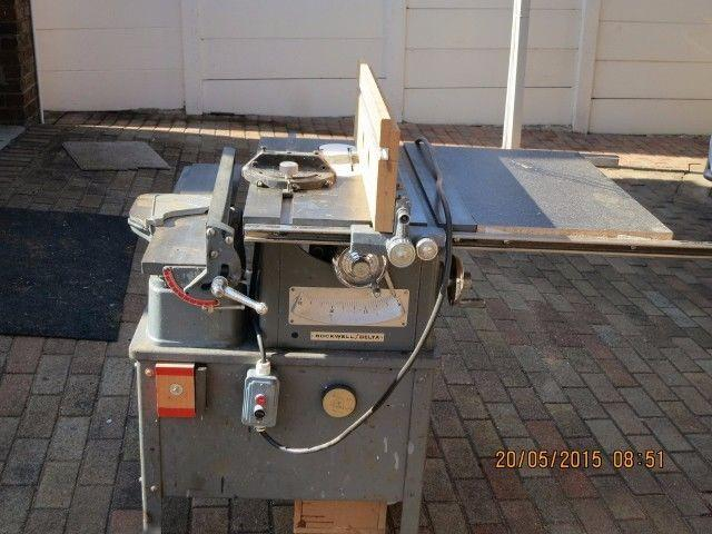 Rockwell Delta Table Saw And Jointer