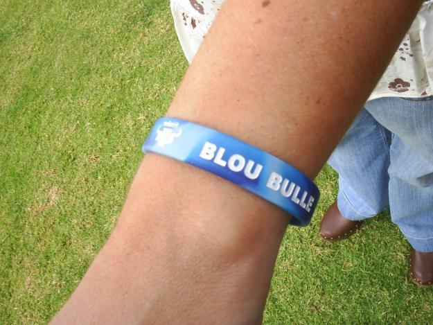 Rugby Supporter Wristbands