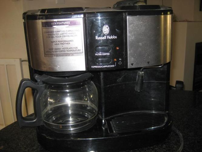 Russell Hobbs 3-in-1 Coffee machine