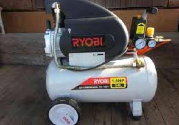 Ryobi 24l air compressor