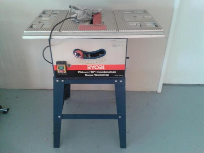 Ryobi 254mm combination table saw home workshop and router ...