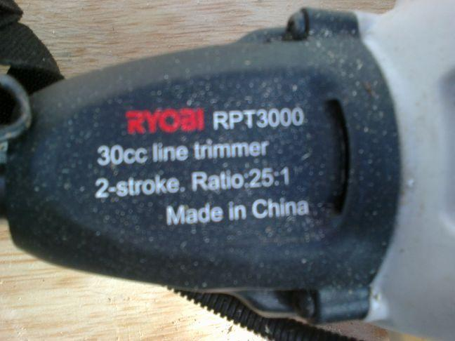 Ryobi Weedeater For Sale