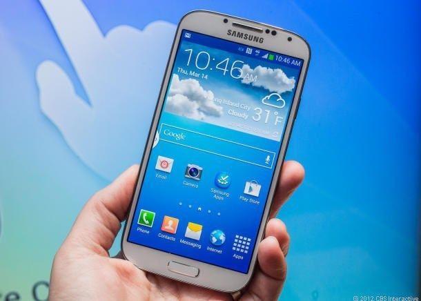 Samsung Galaxy S4 White- R4000 neg