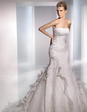 San Patrick Erika Ivory Gown