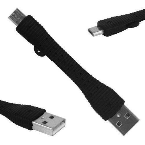 SHORT MICRO USB CHARGER DATA CABLE - SAMSUNG GALAXY /