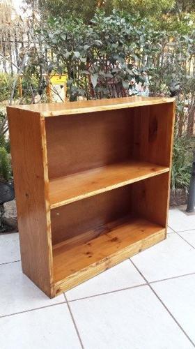 Short Stubby Pine Bookshelf